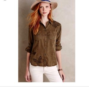Anthropologie•Holding Horses Button Down